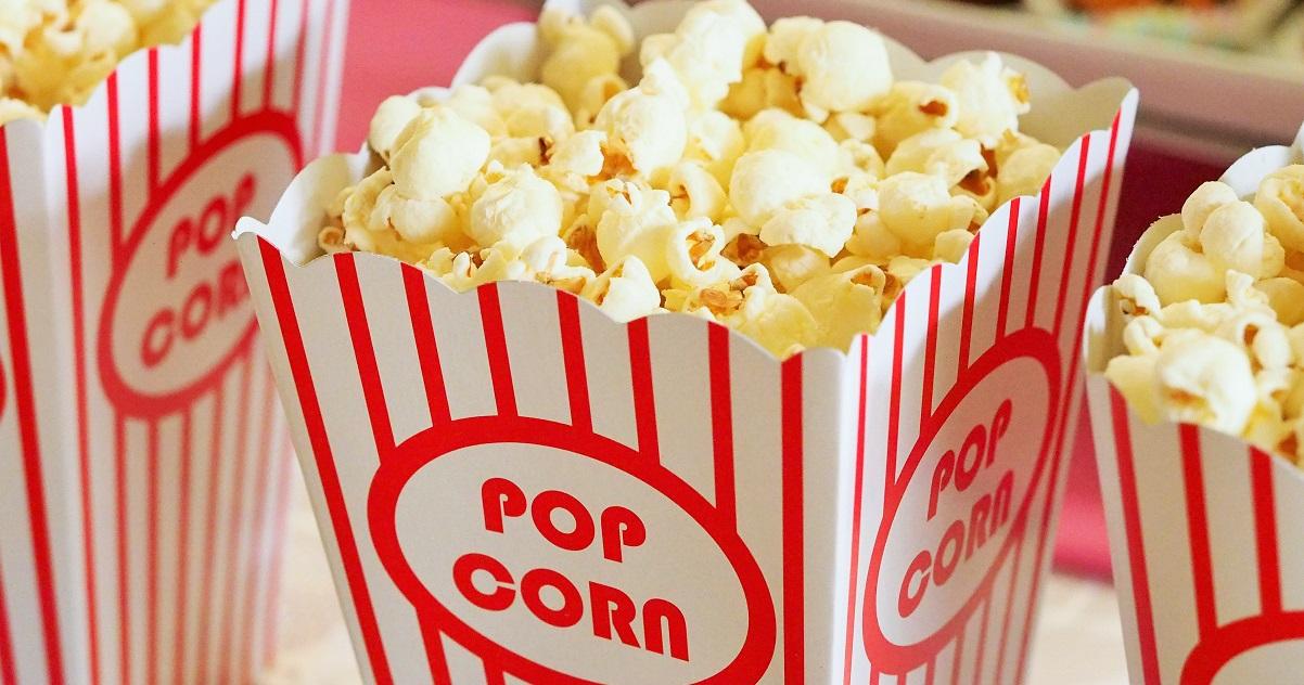 Popcorn binge watching films on The Tonic www.thetonic.co.uk